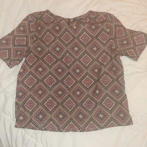 Boxy dress shirt